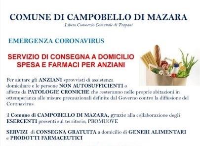 Intervento di disinfezione a Campobello per contenere i rischi del Coronavirus