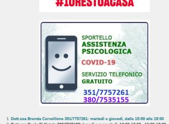 Campobello, servizio di assistenza psicologica per l'emergenza Covid 19