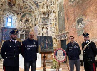 Recuperato dai carabinieri del Tpc un quadro rubato a Castelvetrano