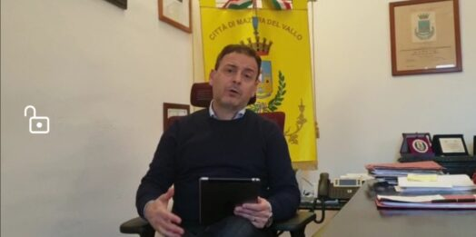 VIDEO – Covid-19, c'è il primo guarito mazarese.  Il punto della situazione con il Sindaco Quinci