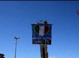 VIDEO – I vigili del fuoco di Trapani ringraziano il personale sanitario dell'Asp