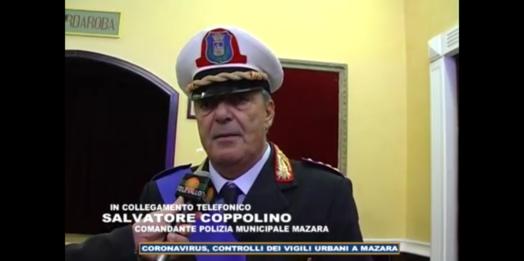 VIDEO – Coronavirus, saranno intensificati i controlli dei vigili urbani a Mazara per le festività di Pasqua. Intervista al comandante Coppolino