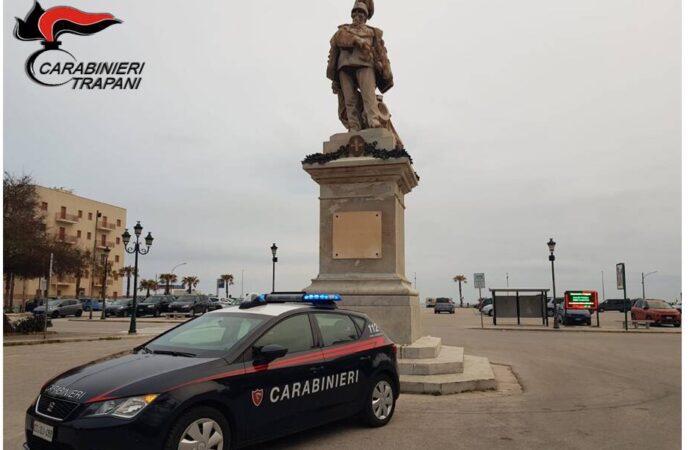 Trapani, i carabinieri arrestano un 34enne per maltrattamenti in famiglia