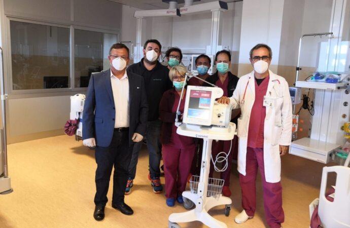 Ance Trapani dona ventilatore polmonare al Covid-Hospital di Marsala