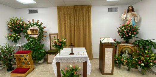 VIDEO – Festa della Divina Misericordia, nella cappella dell'ospedale di Mazara il Triduo di preparazione