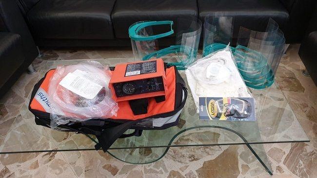 Partanna, donato un ventilatore polmonare e dei Dpi all'ospedale di Castelvetrano