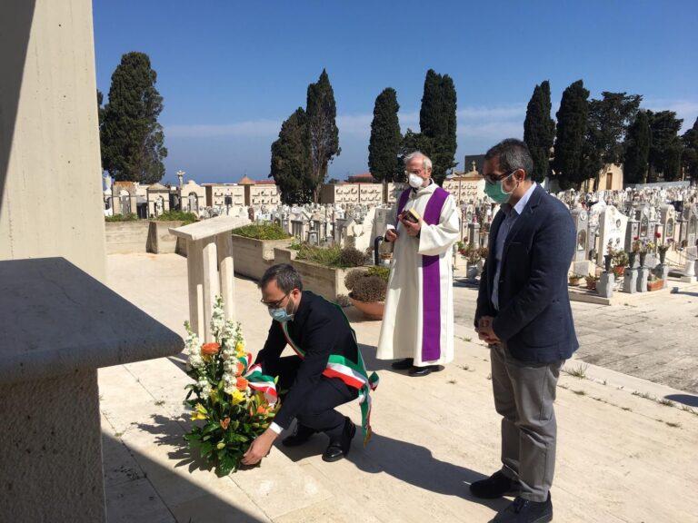 Il sindaco di Alcamo in visita al Santuario di Maria Ss dei Miracoli e al cimitero comunale