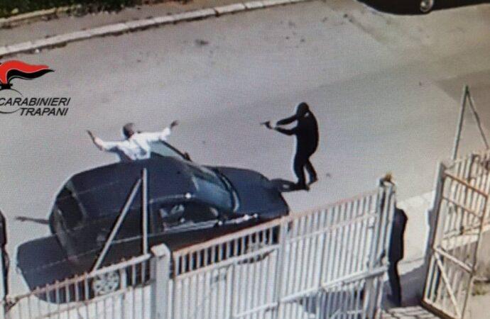Rissa con colpi di pistola in aria, arrestato un 53enne trapanese