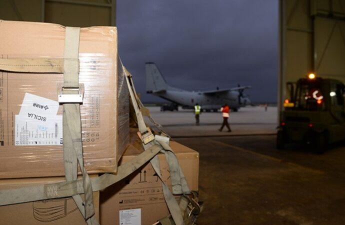 Coronavirus, anche il 37esimo Stormo dell'aeronautica in prima linea per affrontare l'emergenza