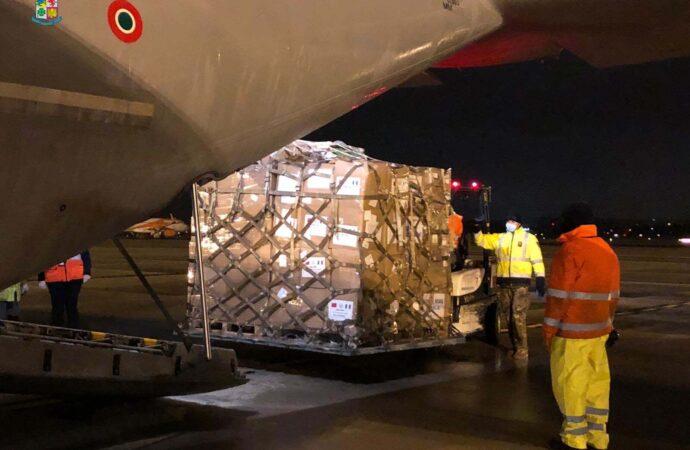 Coronavirus, C-130J e C-27J della 46ª Brigata Aerea in volo per trasportare materiale sanitario su tutto il territorio nazionale