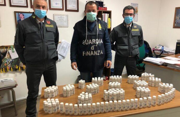 Controlli Covid 19, la Gdf sequestra nel Palermitano prodotto venduto come disinfettante