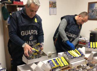 Controlli della Guardia di finanza di Carini,  sequestrati 680 occhiali di protezione contraffatti