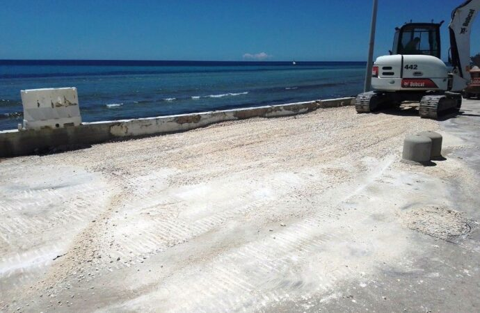Mazara, iniziata la pulizia delle spiagge