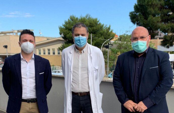 Firmato protocollo per la gestione a titolo gratuito delle aiuole dell'ospedale di Mazara