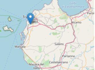 Scossa di terremoto in provincia di Trapani