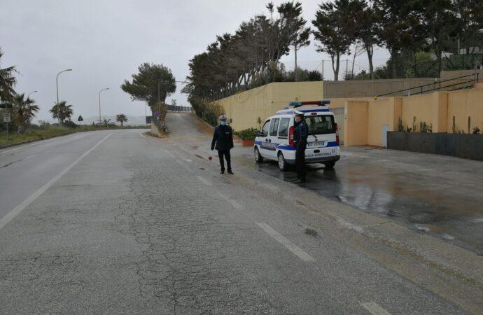Fase 1, il bilancio dei controlli della polizia municipale a Castellammare del Golfo