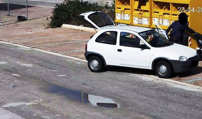 Abbandono di rifiuti a Marsala,  centinaia i controlli della polizia municipale