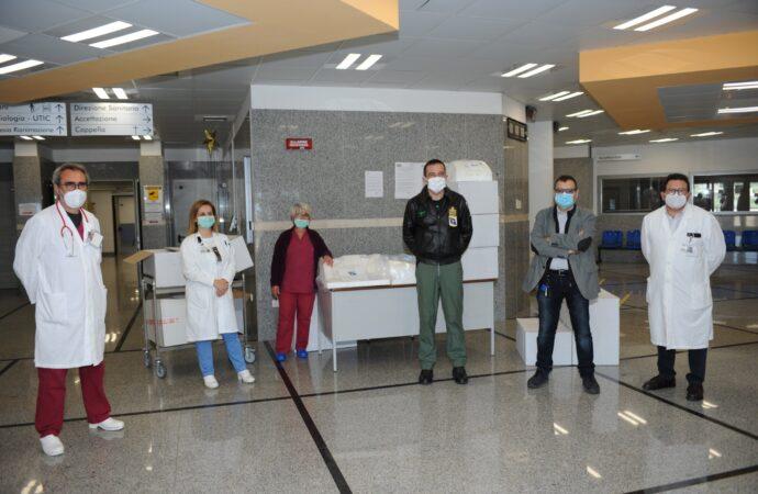 Covid-19: iniziativa di solidarietà del 37^stormo, donati dispositivi all'ospedale di Marsala