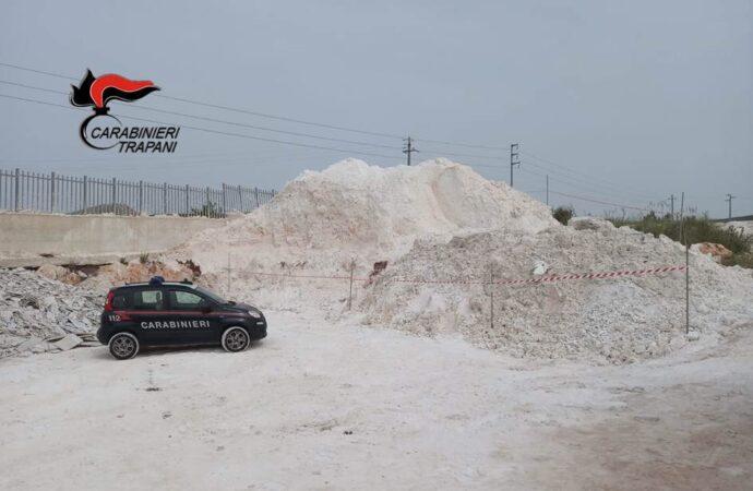 Valderice, i carabinieri sequestrano un'area adibita a discarica