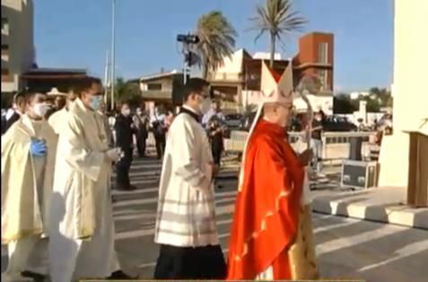 VIDEO  – Il vescovo Mogavero ha presentato le linee guida del piano pastorale 2020/2021