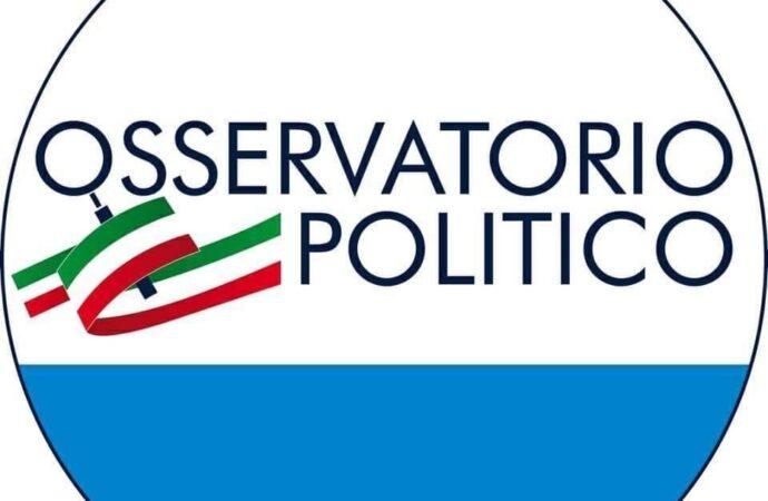 """Osservatorio Politico:""""Fiducia nella Magistratura, Pieno sostegno al Sindaco Quinci"""""""