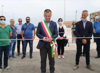 Raccolta differenziata a Petrosino, inaugurato stamattina l'Ecocentro comunale
