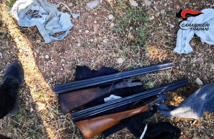 """""""Operazione Cutrara"""", i carabinieri sequestrano armi e munizioni"""