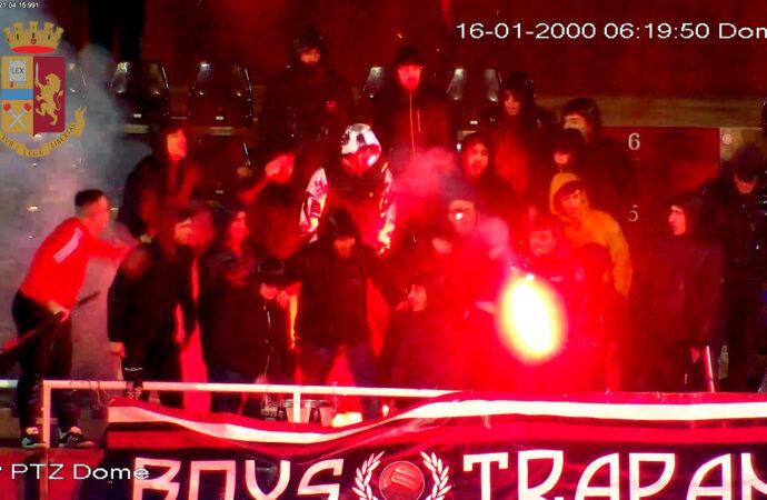 Trapani, applicato il Daspo sportivo per due giovani tifosi