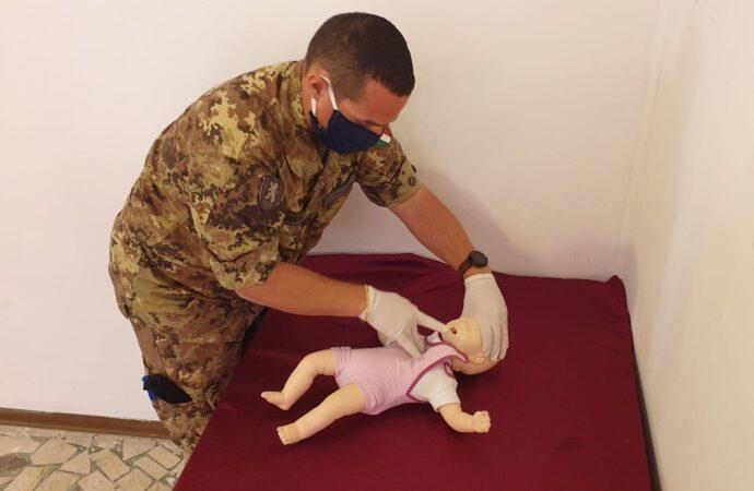 Al 6*Reggimento Bersaglieri un corso di Blsd in sinergia con il Centro Soccorso Emergency di Trapani
