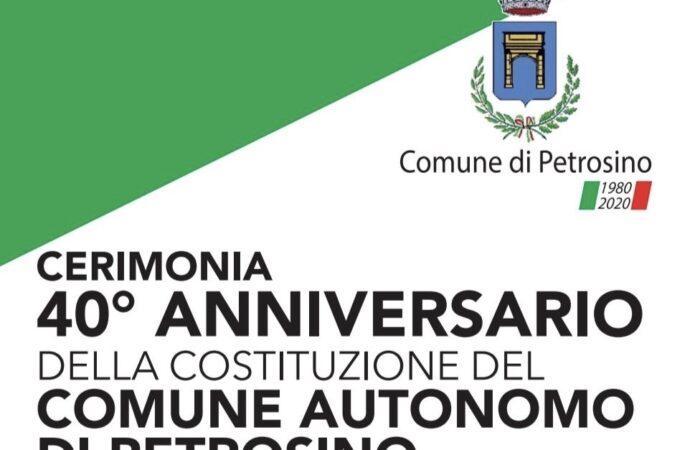 Il Comune di Petrosino compie 40 anni