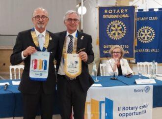 Visita al Rotary Club Mazara del Governatore del Distretto Rotary 2110 Sicilia-Malta, Alfio Di Costa