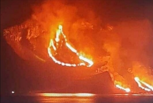 Incendio monte Cofano, il  segretario della Cgil condanna il vile gesto
