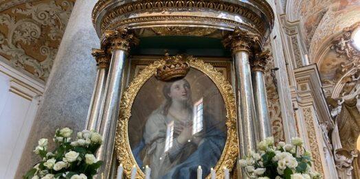 VIDEO – L'Effige della Madonna del Paradiso in Cattedrale. Parla don Edoardo Bonacasa