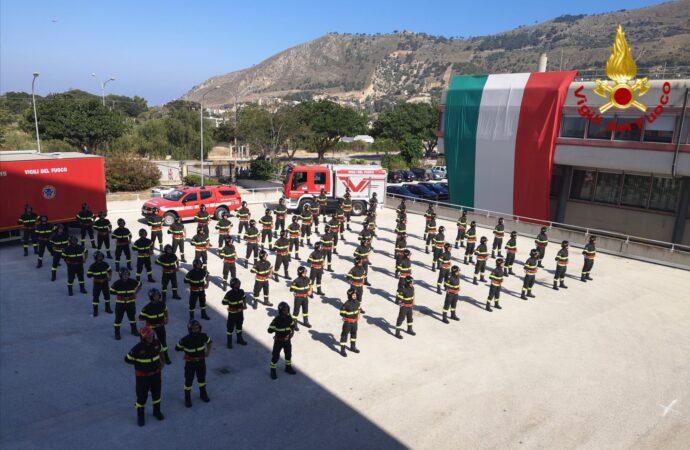 """Prima cerimonia oggi di """"video"""" giuramento nel Corpo Nazionale dei Vigili del Fuoco"""