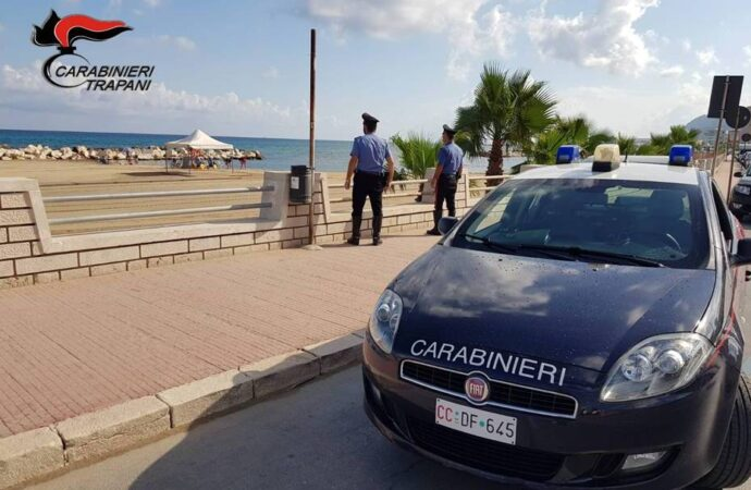 Servizio straordinario di controllo del territorio dei carabinieri di Trapani, due persone denunciate a piede libero