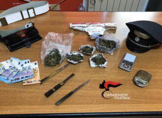 Un ericino arrestato dai carabinieri per spaccio di droga
