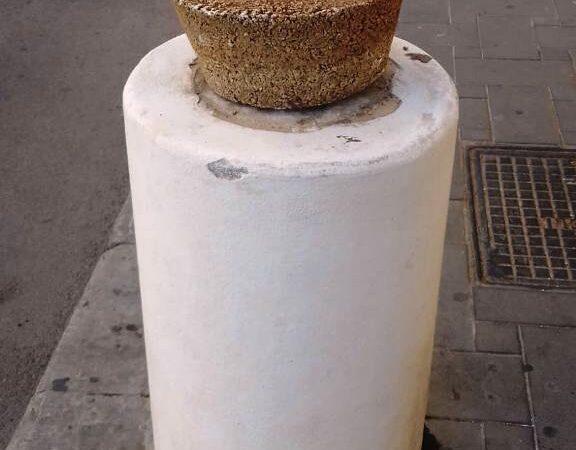 Rubato un vaso di ceramica in corso Umberto a Mazara