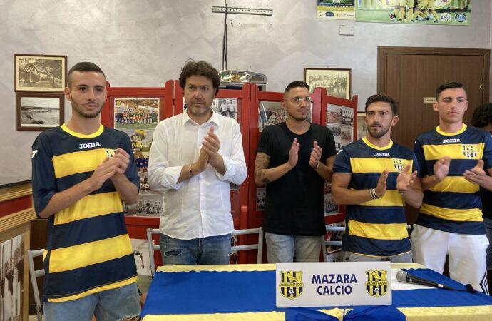 Presentati dal Mazara calcio nuovi giocatori