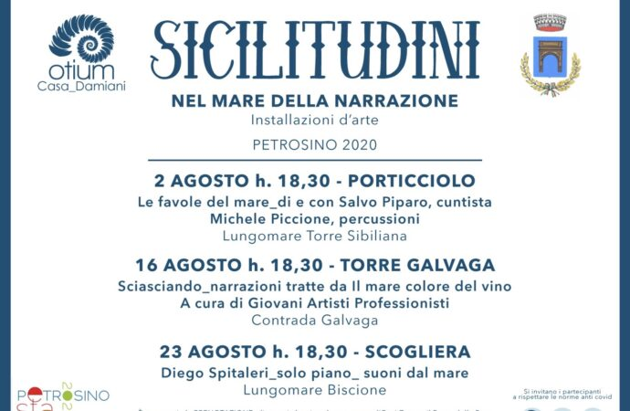 """""""Petrosino Estate 2020"""", torna l'appuntamento con """"Sicilitudini"""""""