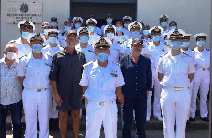 Il Comandante Generale in visita all'Ufficio Circondariale Marittimo di Pantelleria