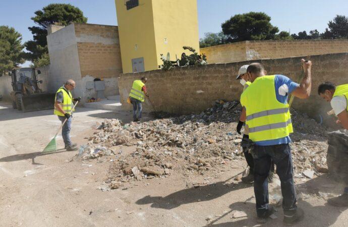 Mazara, bonificata via Napoli dall'abbandono di rifiuti