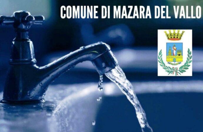 Acqua, nuovi disagi in centro città a Mazara