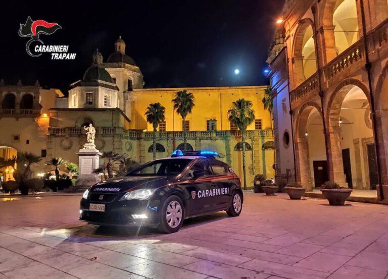 Mazara, un 33enne arrestato dai carabinieri per tentato furto