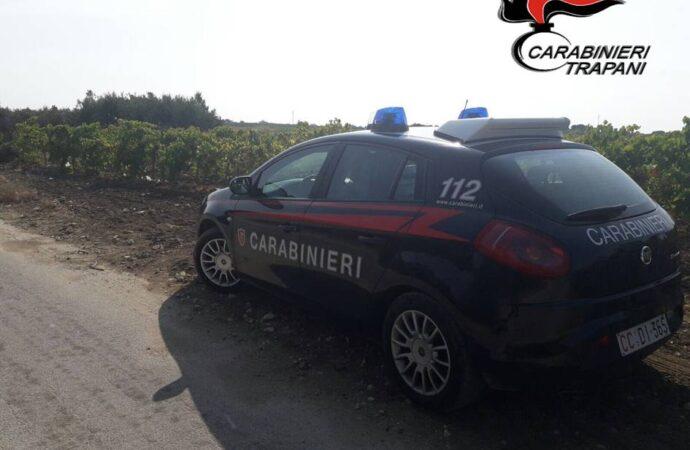 Trapani, due persone arrestate dai carabinieri con l'accusa di furto