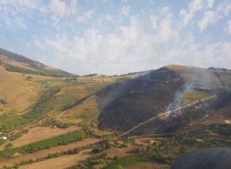 Incendio boschivo in zona Castellammare del Golfo,  intervento per l'82° Centro C.S.A.R. dell'Aeronautica Militare