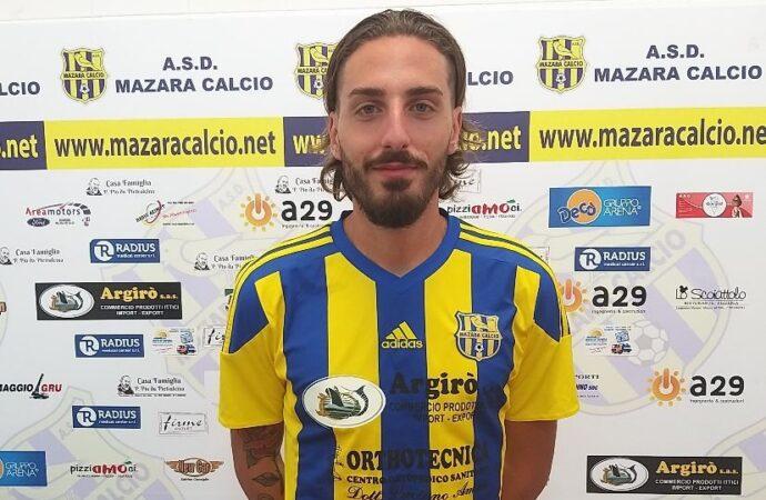Il Mazara calcio tessera il difensore Davide Lo Cascio