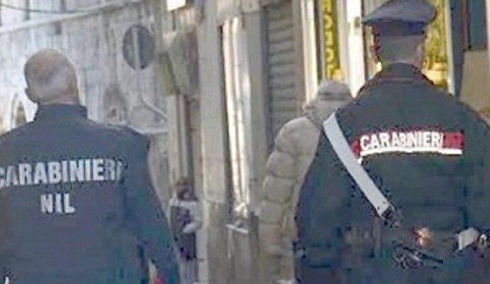 Controlli dei carabinieri del Nil a Mazara, sanzioni e sospensione attività