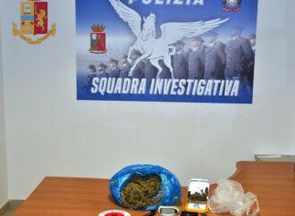 Mazara, 51enne spaccia marijuana. Arrestato dalla polizia