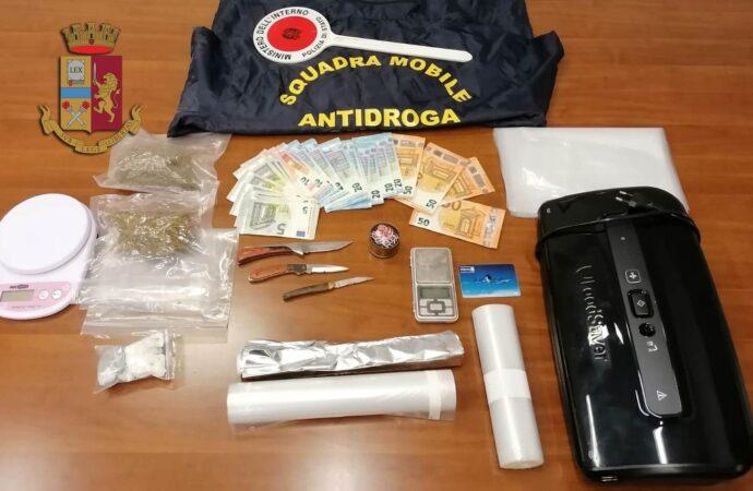 Un trapanese arrestato dalla polizia per spaccio di droga