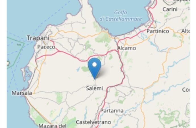 Quattro scosse di terremoto stamattina tra Vita e Salemi